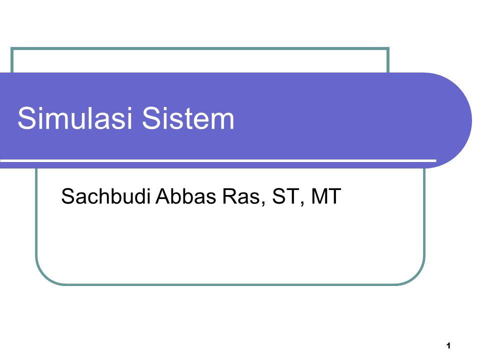 Sachbudi Abbas Ras, ST, MT