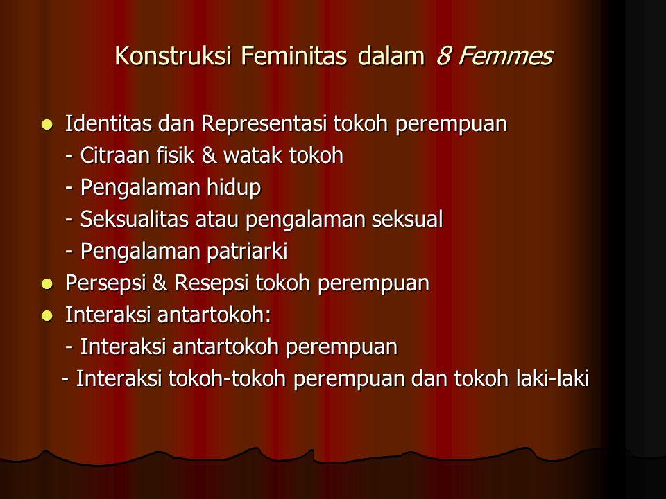 Konstruksi Feminitas dalam 8 Femmes