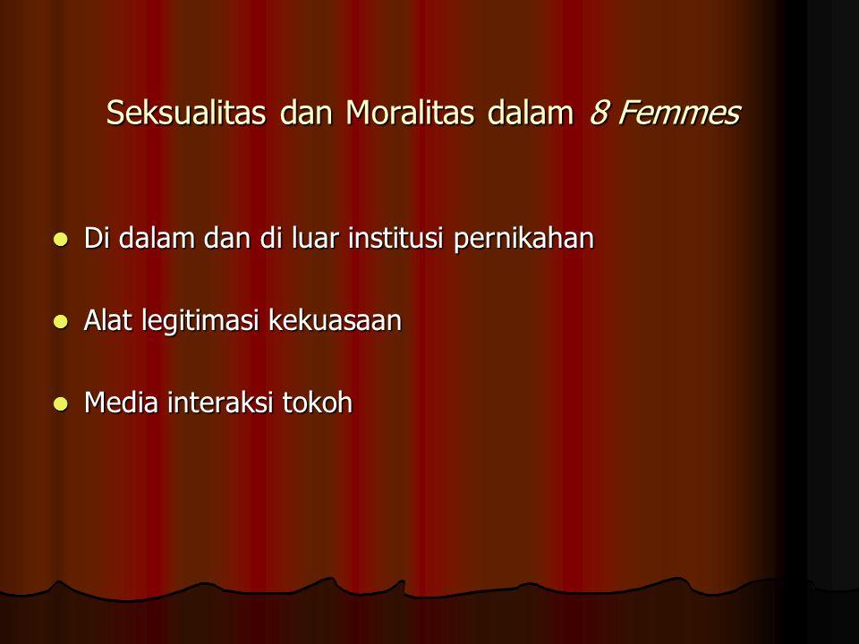 Seksualitas dan Moralitas dalam 8 Femmes
