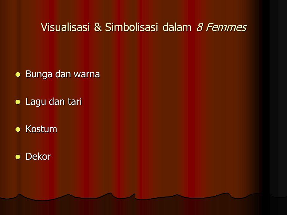 Visualisasi & Simbolisasi dalam 8 Femmes
