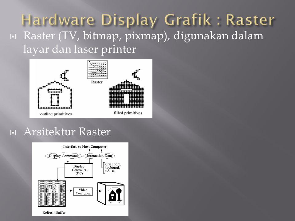 Hardware Display Grafik : Raster