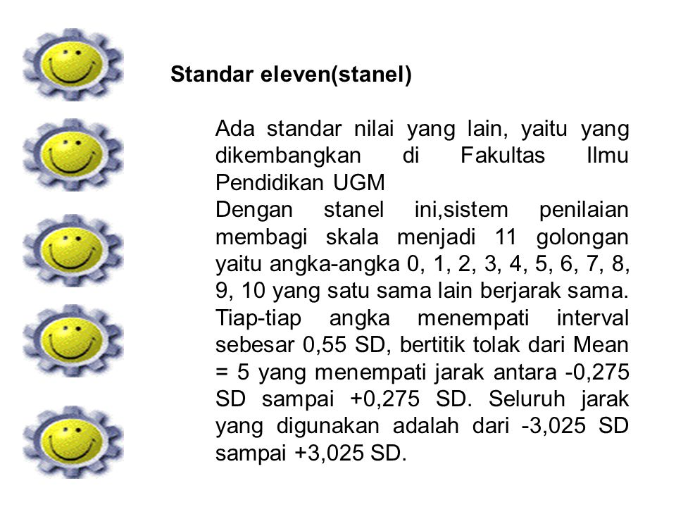 Standar eleven(stanel)
