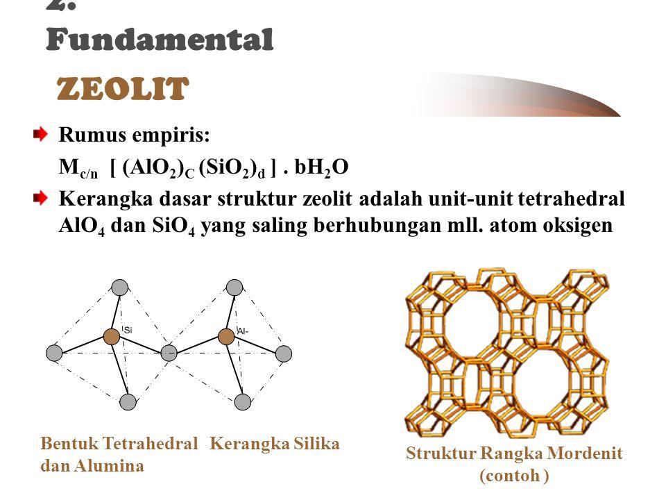 Struktur Rangka Mordenit