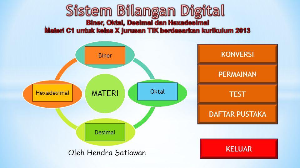 Sistem Bilangan Digital