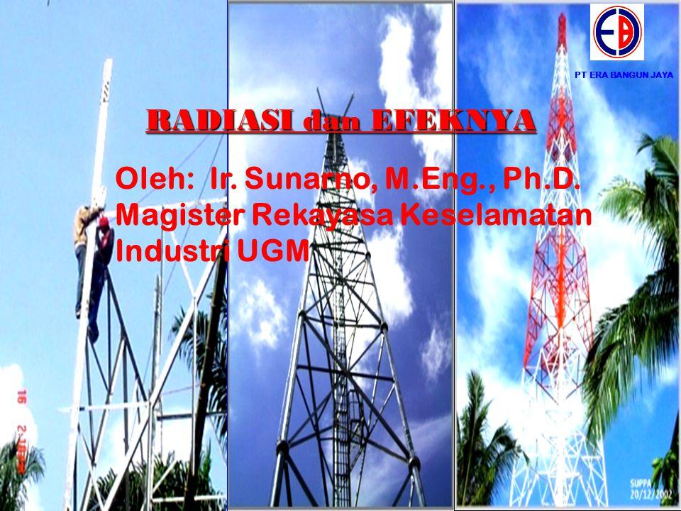 Oleh: Ir. Sunarno, M.Eng., Ph.D.