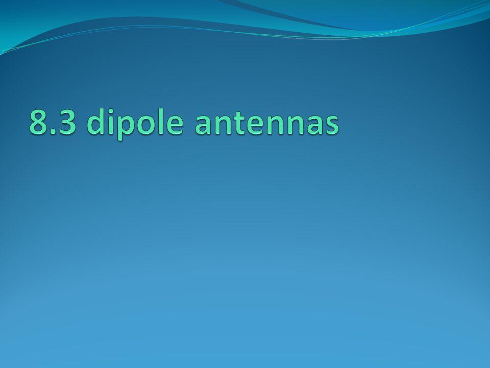8.3 dipole antennas