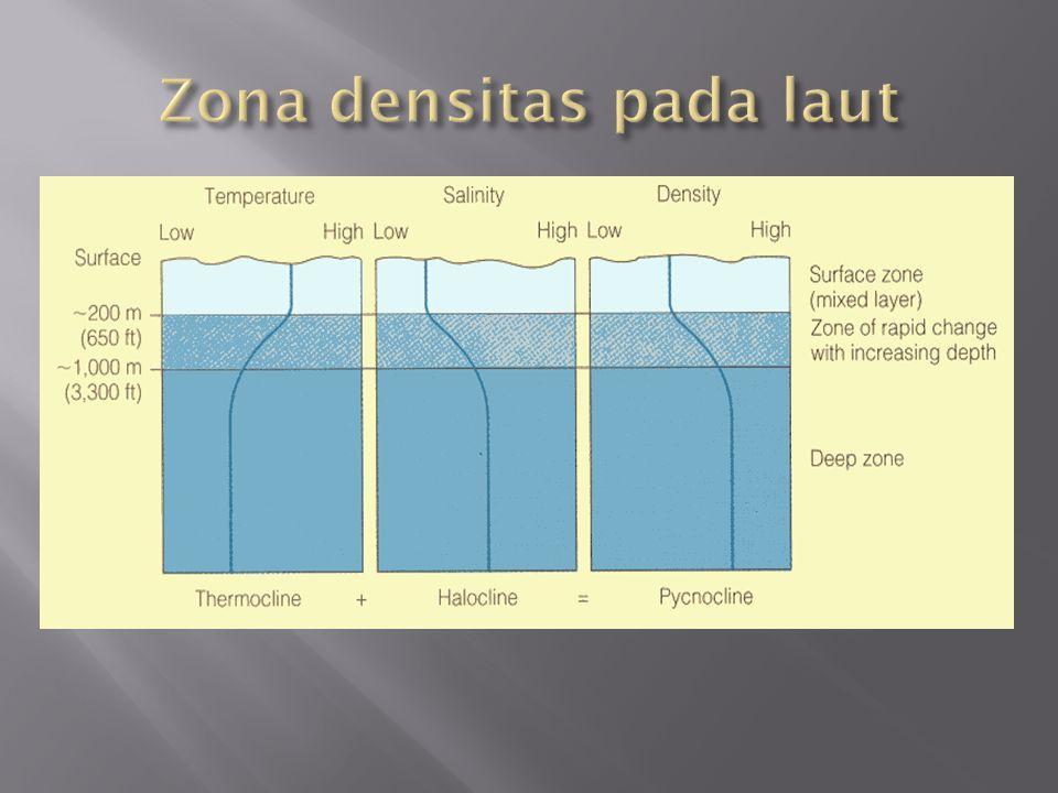 Zona densitas pada laut