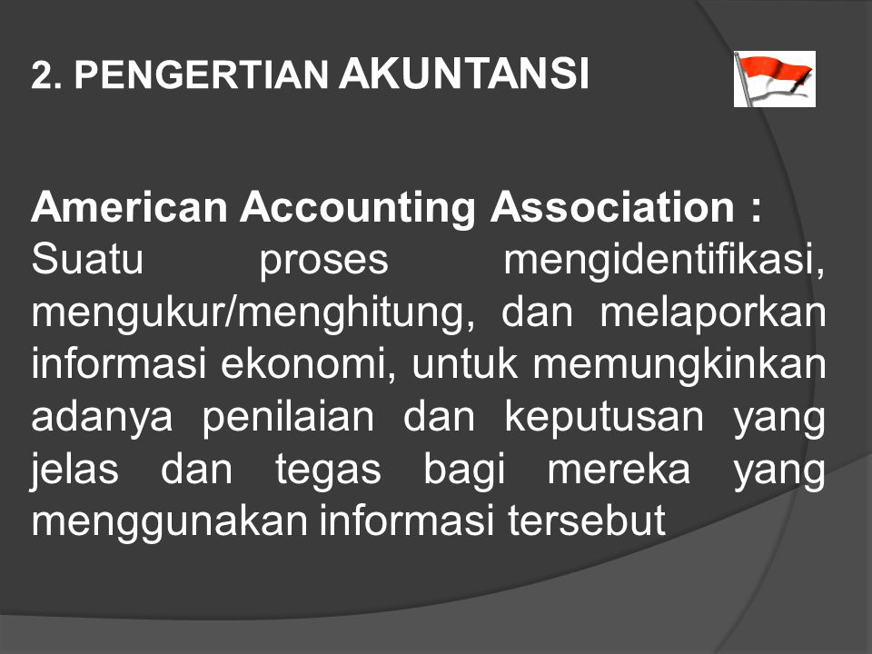 American Accounting Association :
