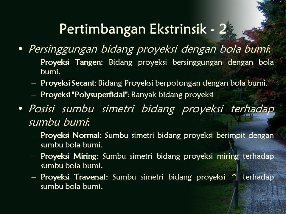 Pertimbangan Ekstrinsik - 2