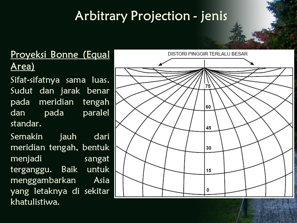 Arbitrary Projection - jenis