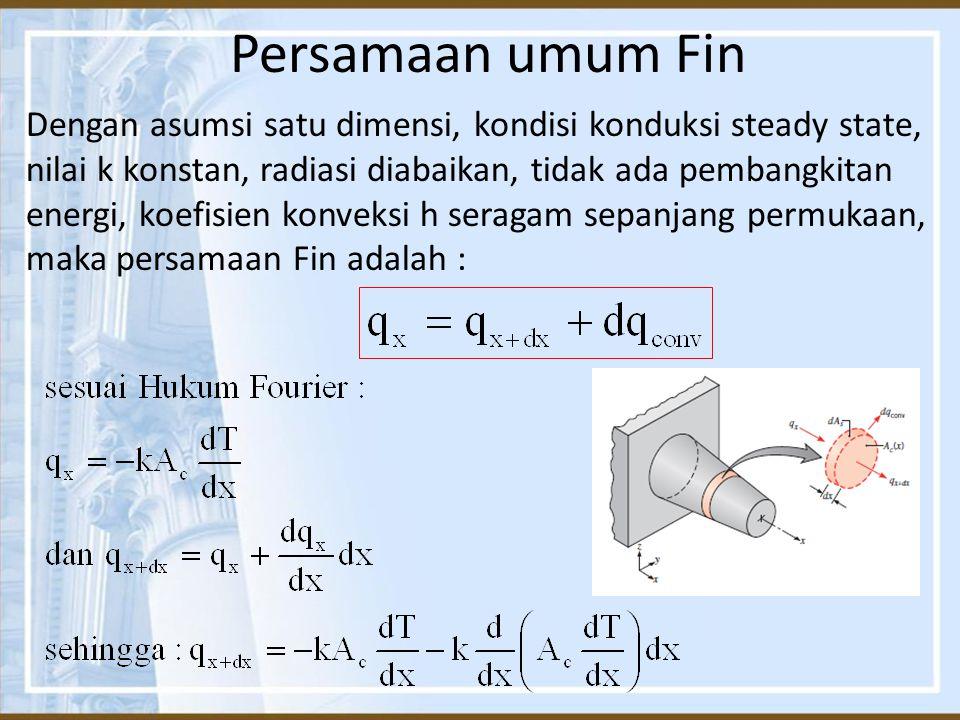 Persamaan umum Fin