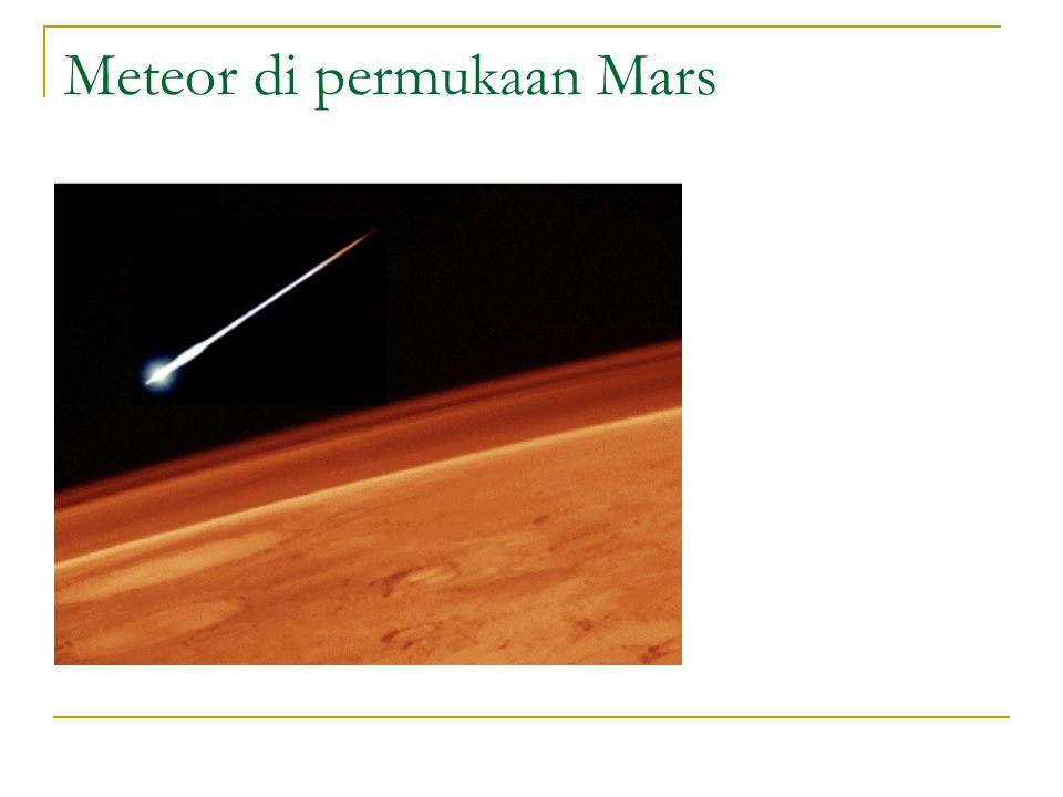 Meteor di permukaan Mars