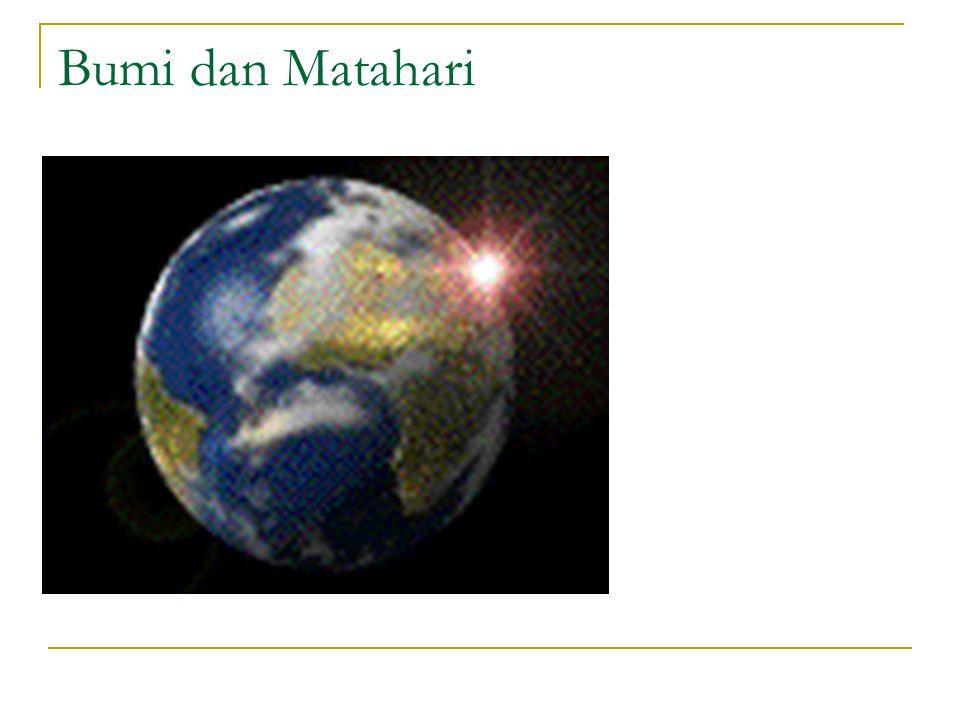 Bumi dan Matahari