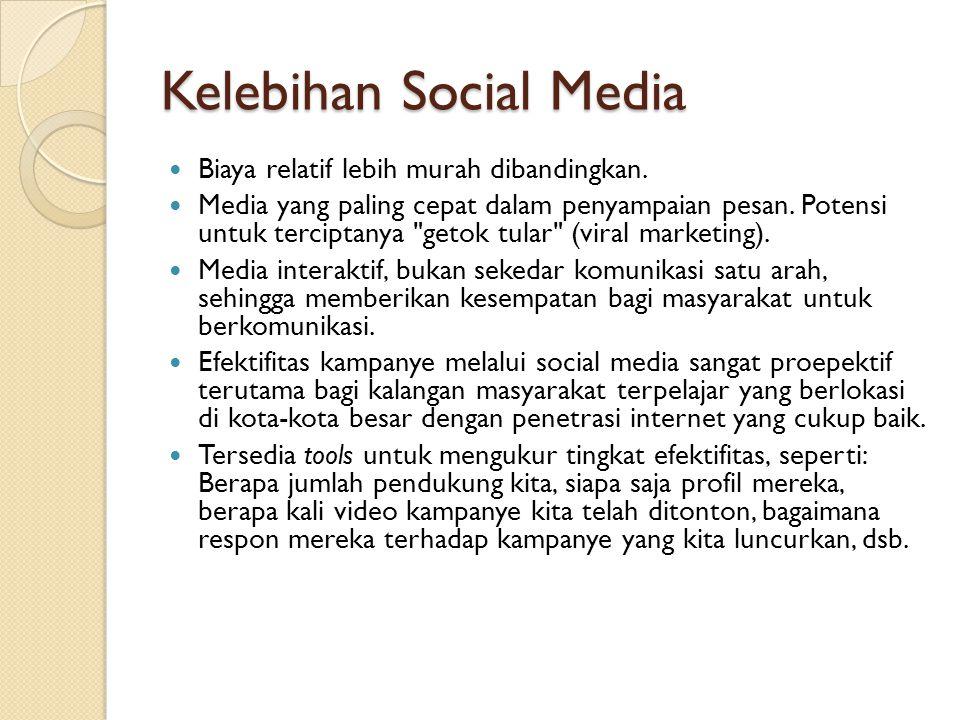 Kelebihan Social Media