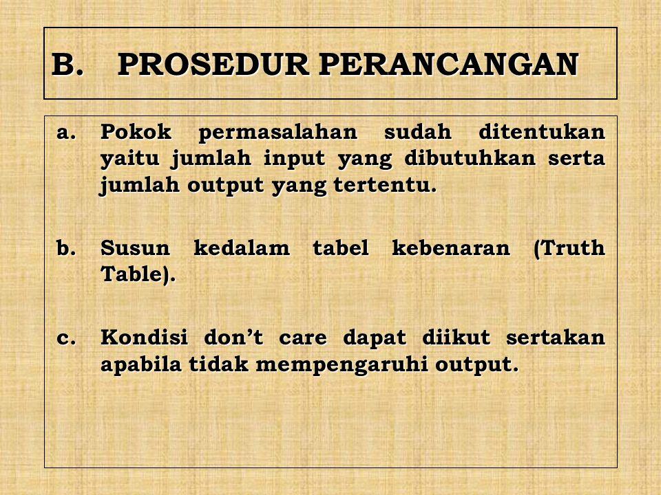 B. PROSEDUR PERANCANGAN
