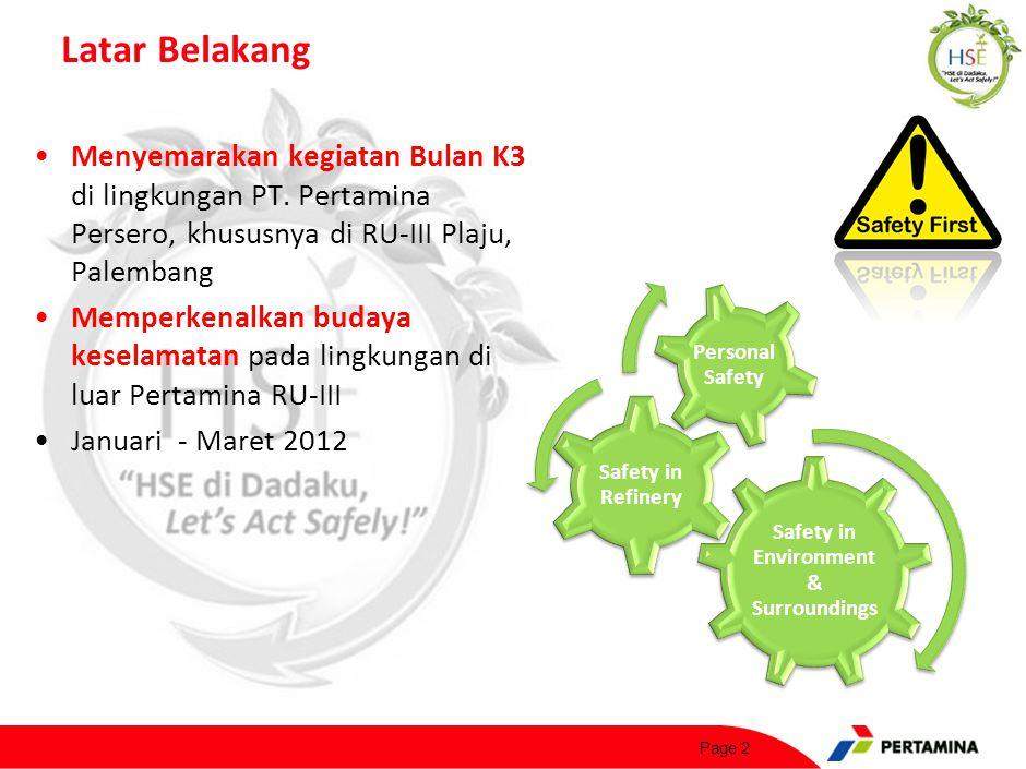Bentuk Kegiatan Lomba cerdas cermat untuk mahasiswa S1 & D3 di perguruan tinggi area Palembang (usia max. 23)