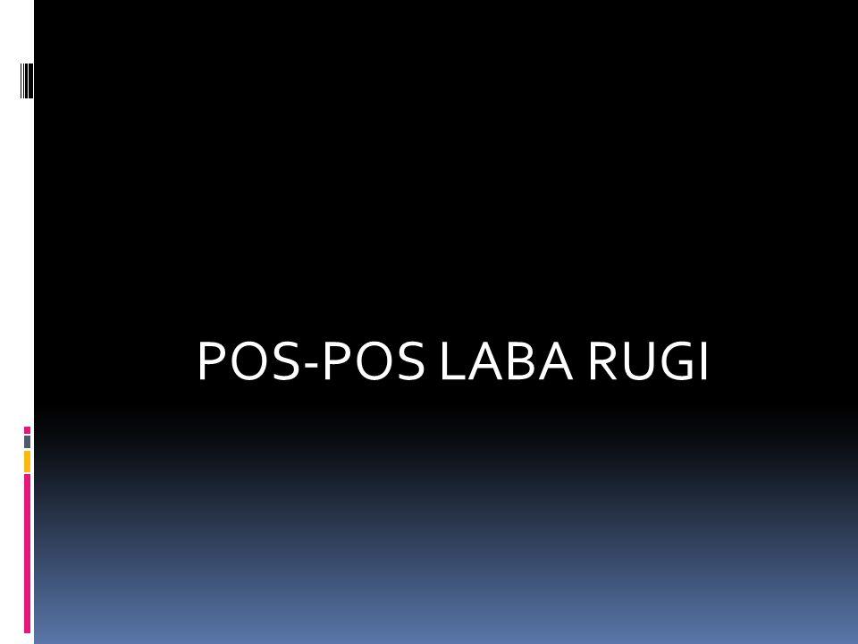 POS-POS LABA RUGI