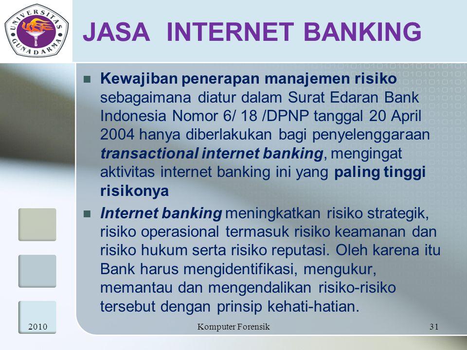 JASA INTERNET BANKING