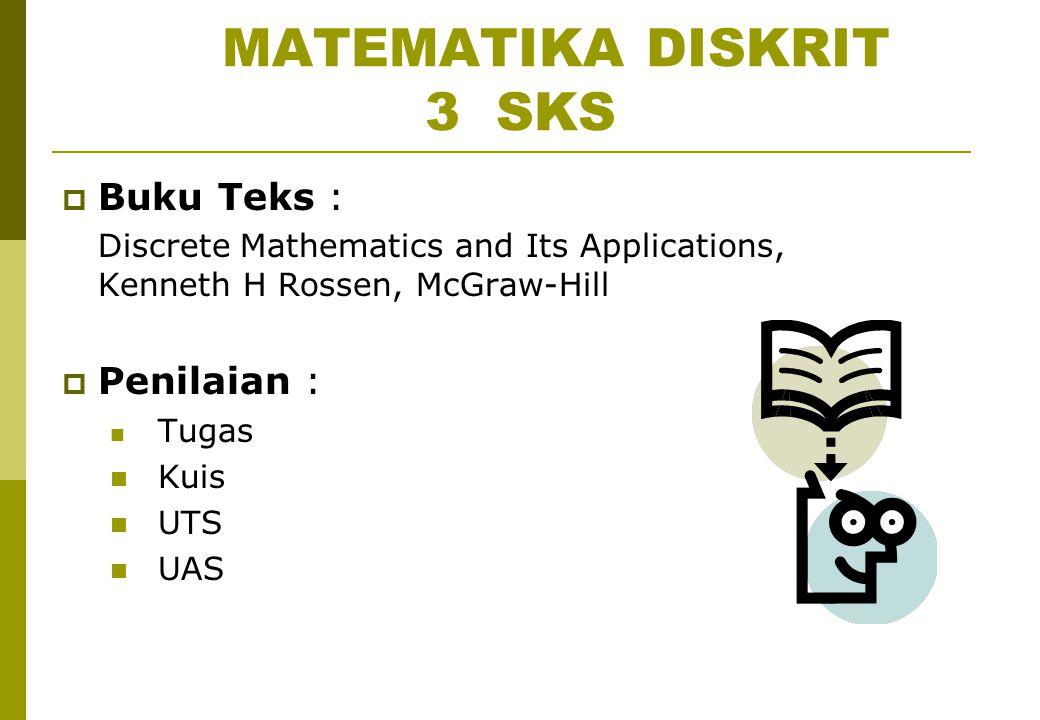 MATEMATIKA DISKRIT 3 SKS