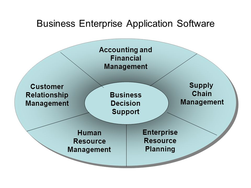 Business Enterprise Application Software