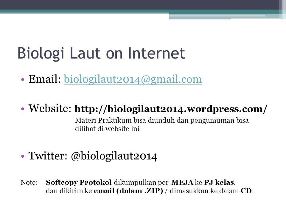 Biologi Laut on Internet
