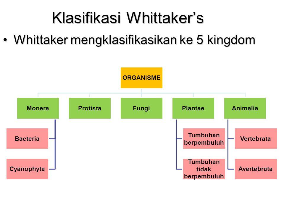 Klasifikasi Whittaker's