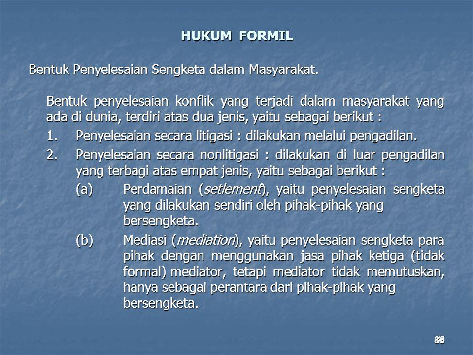 HUKUM FORMIL