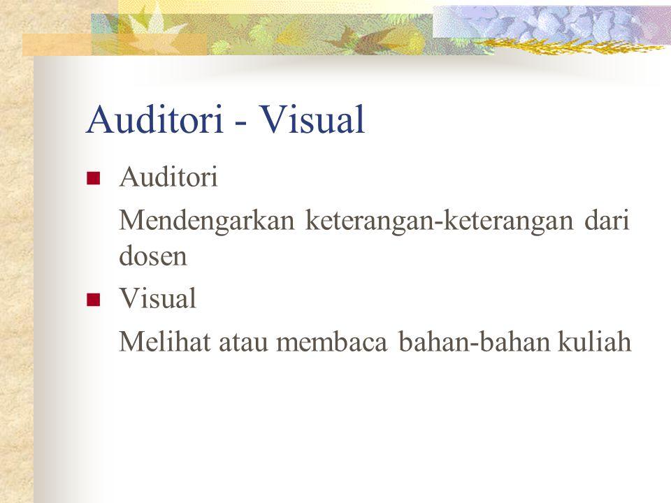 Auditori - Visual Auditori
