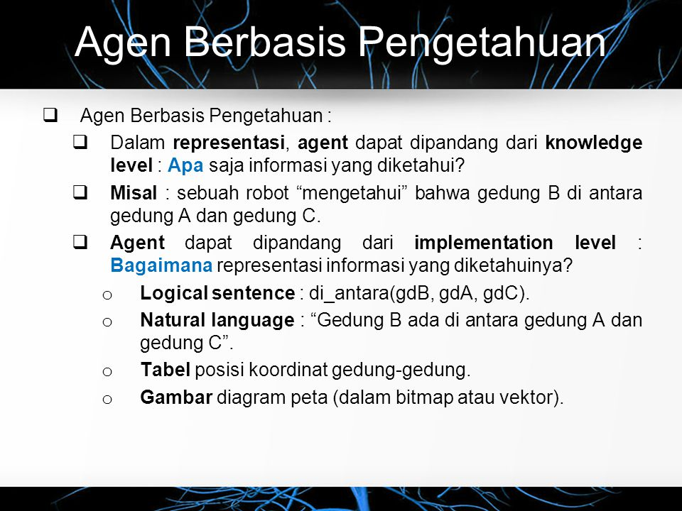 Agen Berbasis Pengetahuan