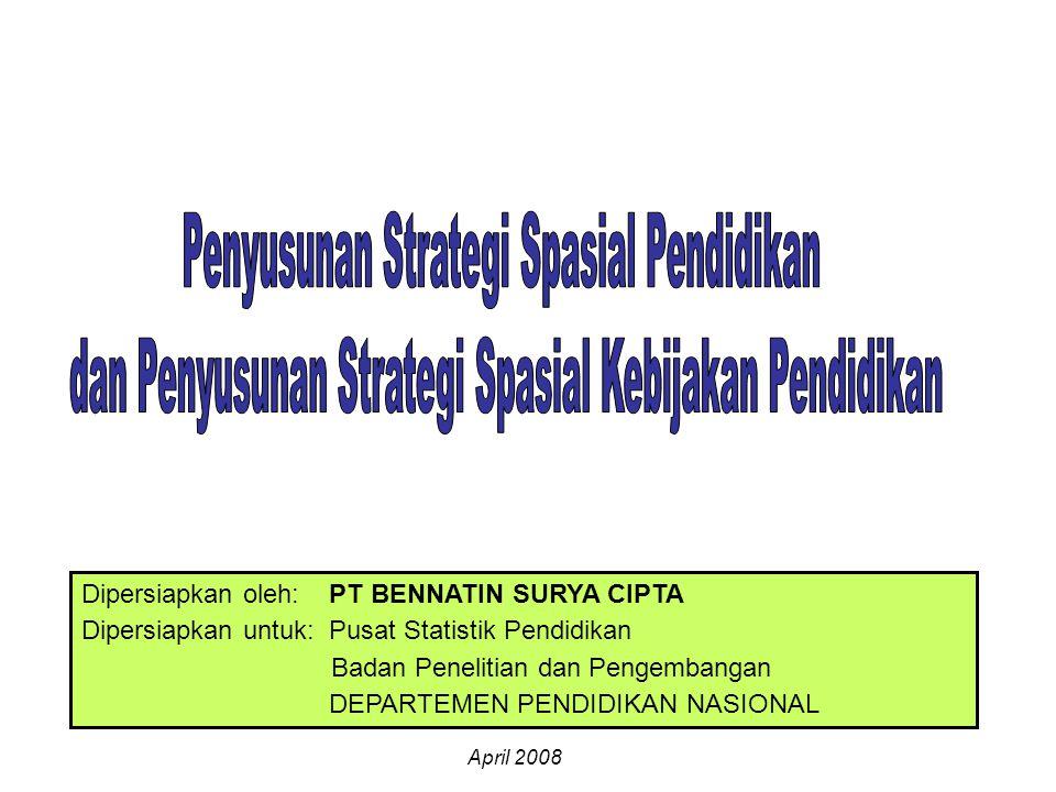 Penyusunan Strategi Spasial Pendidikan
