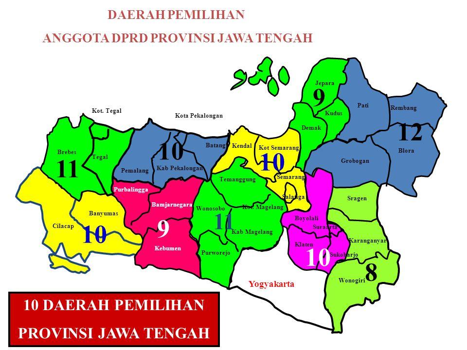 ANGGOTA DPRD PROVINSI JAWA TENGAH