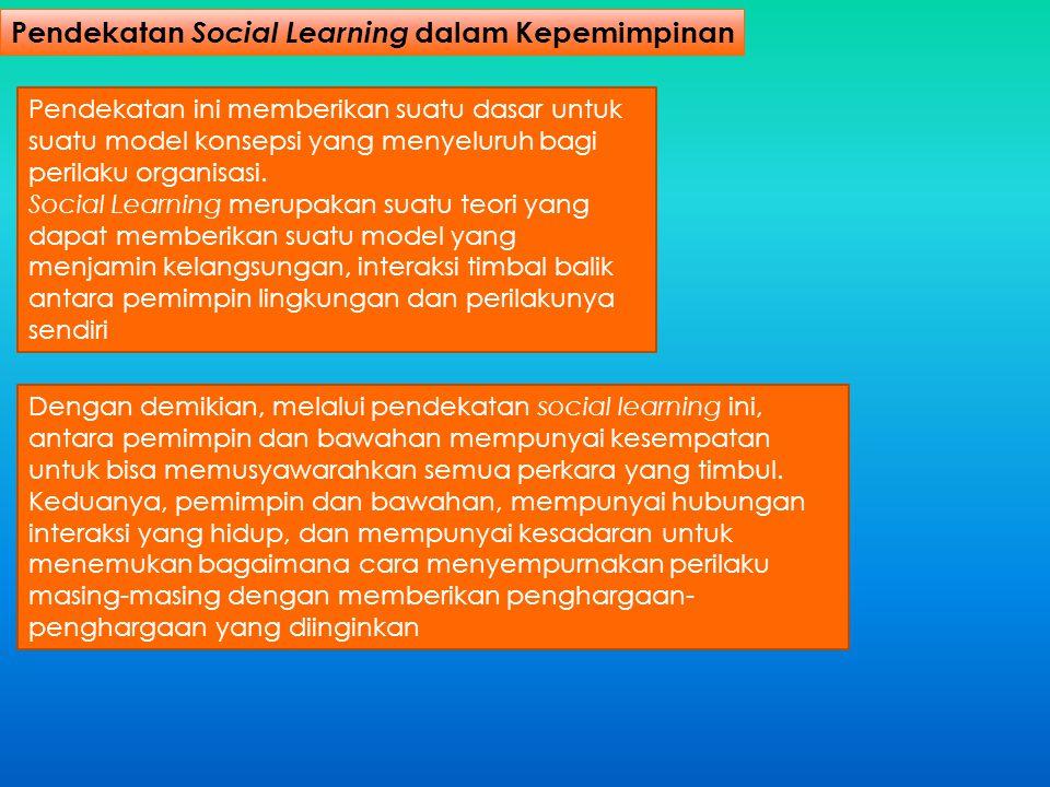 Pendekatan Social Learning dalam Kepemimpinan