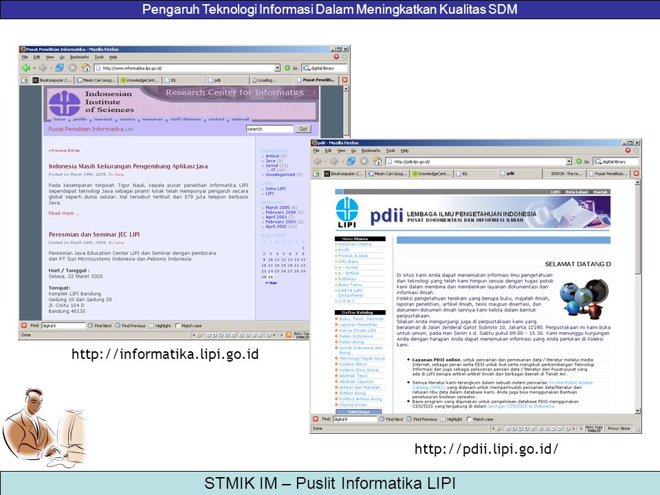 http://informatika.lipi.go.id http://pdii.lipi.go.id/