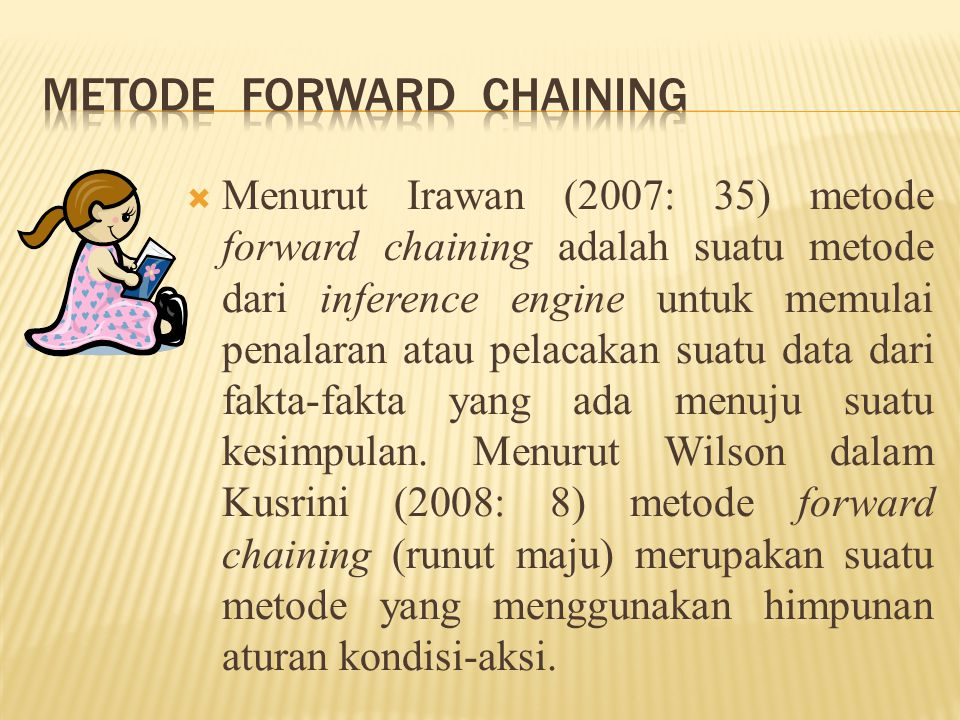 Metode Forward Chaining