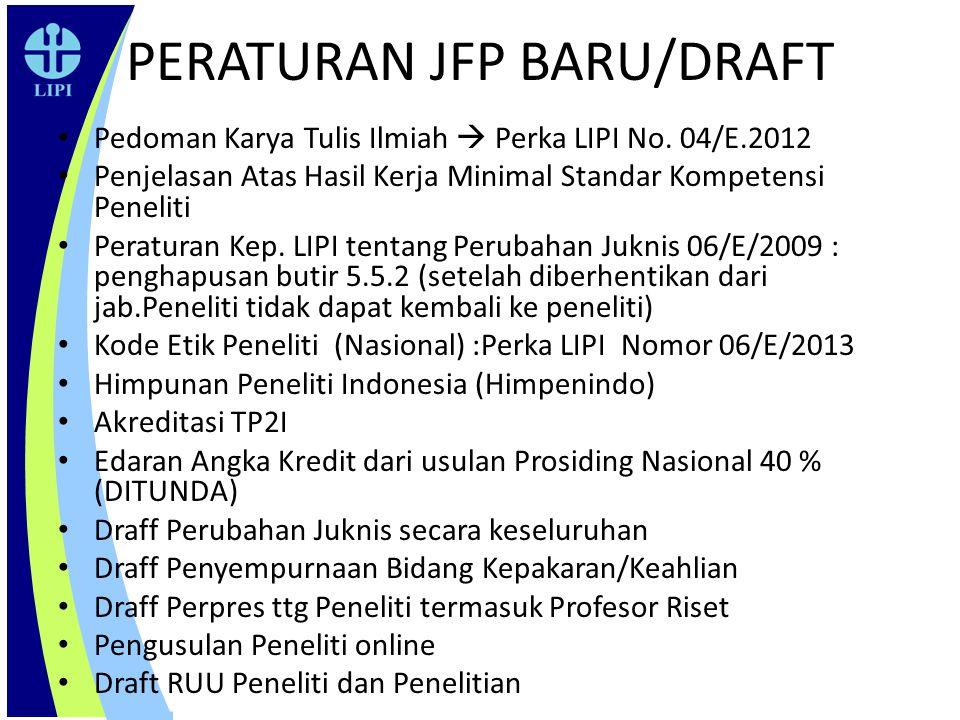 PERATURAN JFP BARU/DRAFT