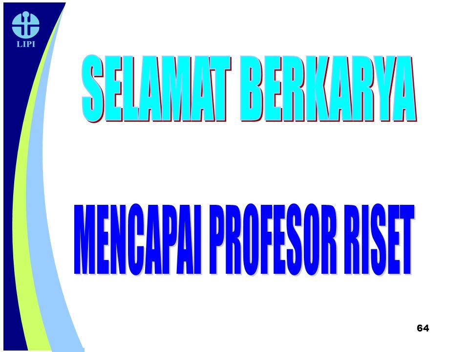 MENCAPAI PROFESOR RISET