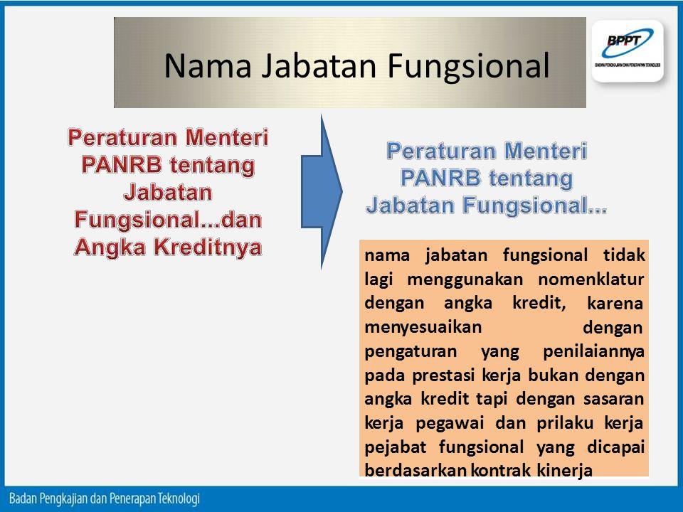 Nama Jabatan Fungsional
