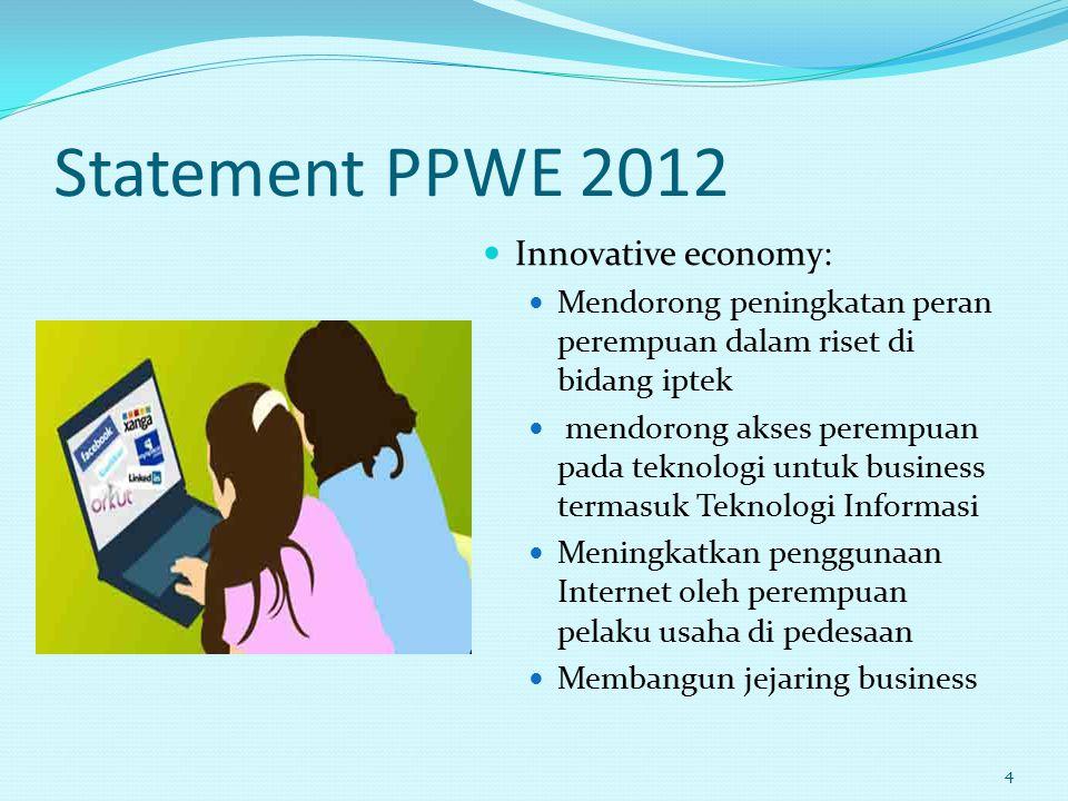 Statement PPWE 2012 Innovative economy: