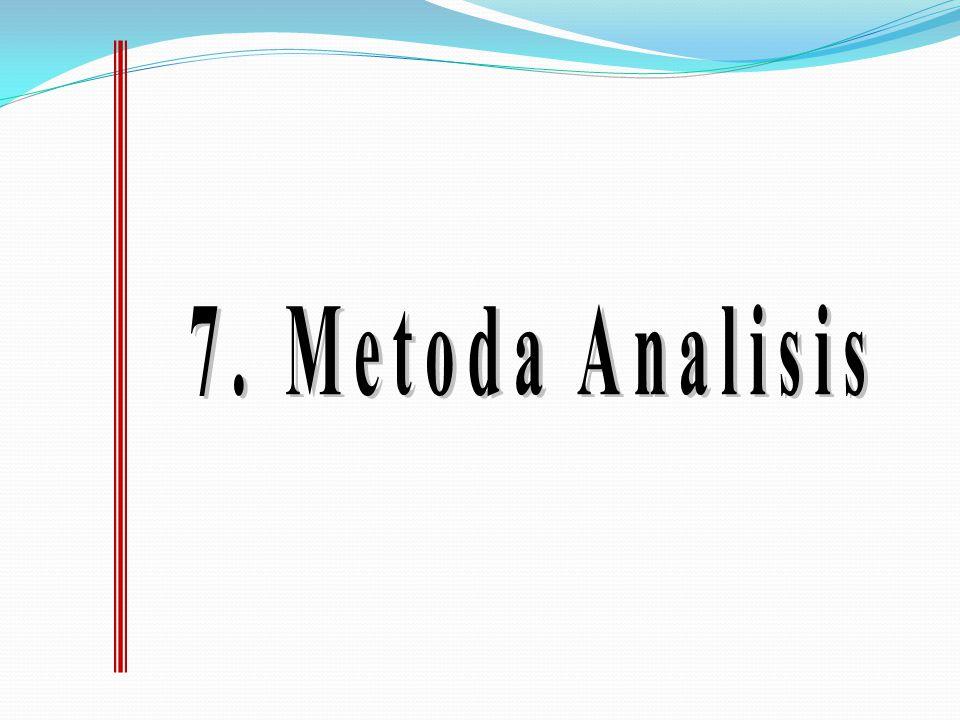 7. Metoda Analisis