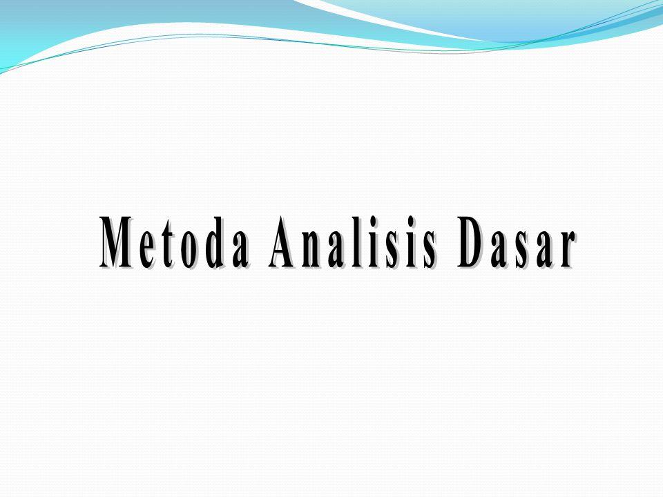 Metoda Analisis Dasar