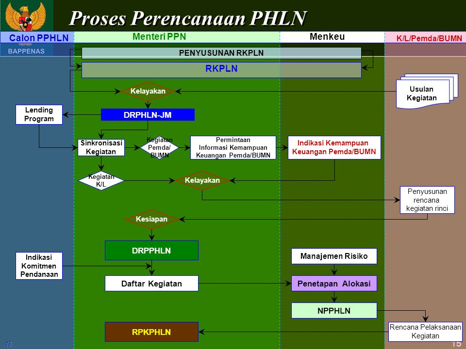 Proses Perencanaan PHLN