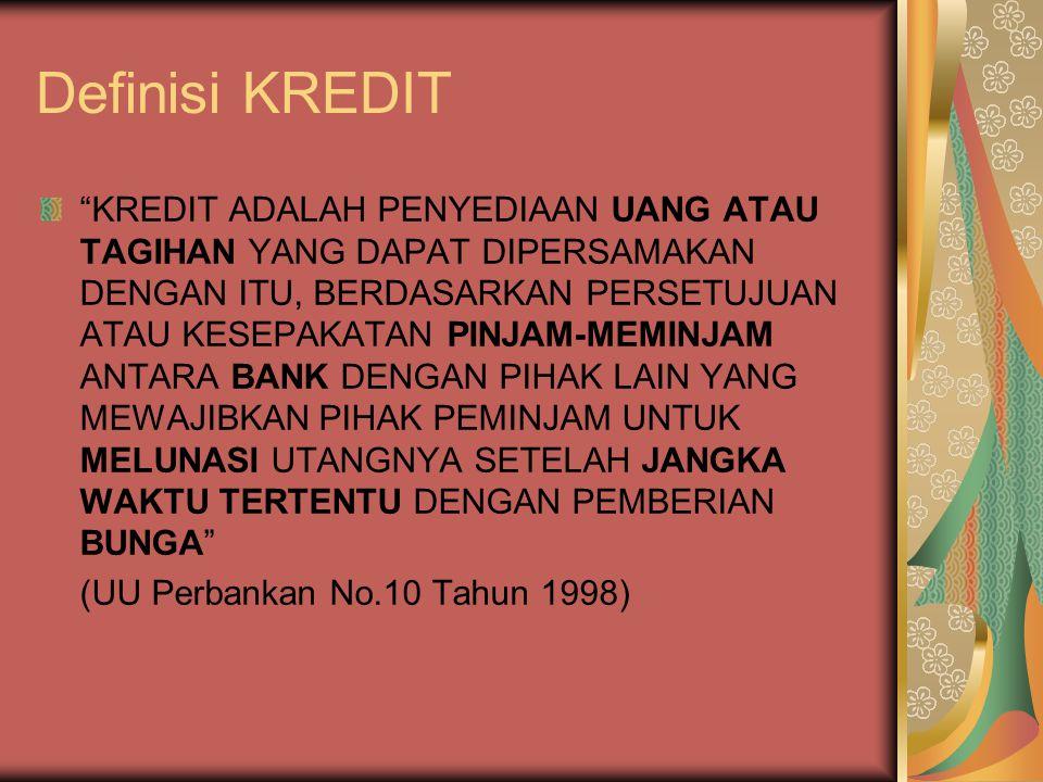 Definisi KREDIT
