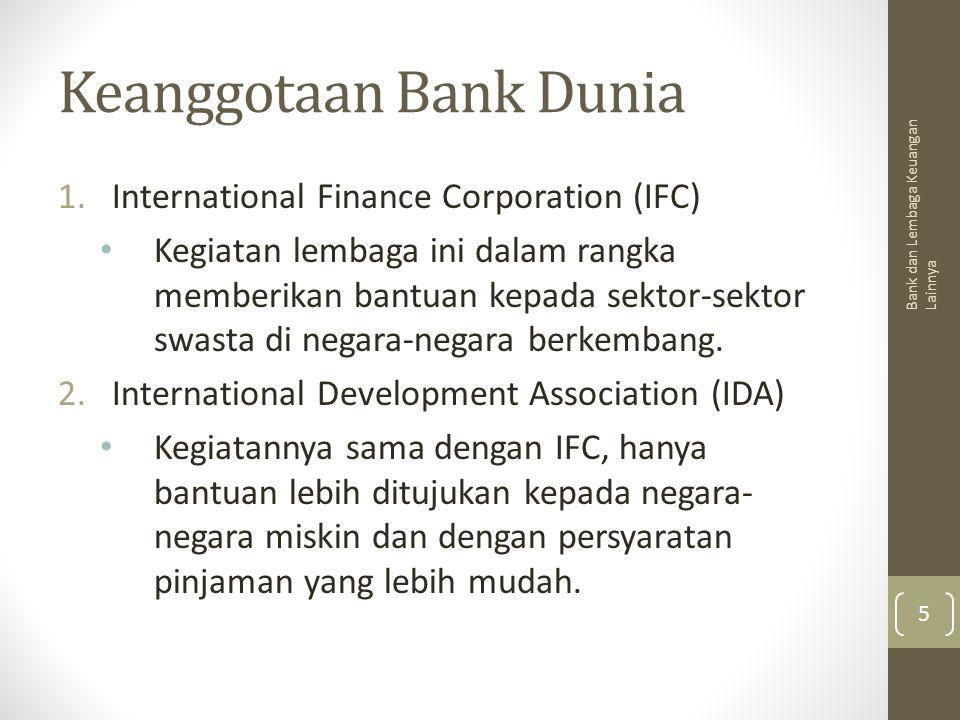Keanggotaan Bank Dunia