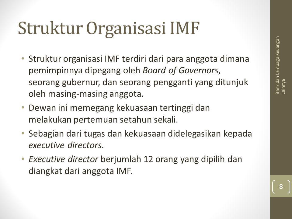 Struktur Organisasi IMF