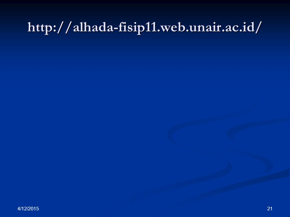 http://alhada-fisip11.web.unair.ac.id/ 4/11/2017