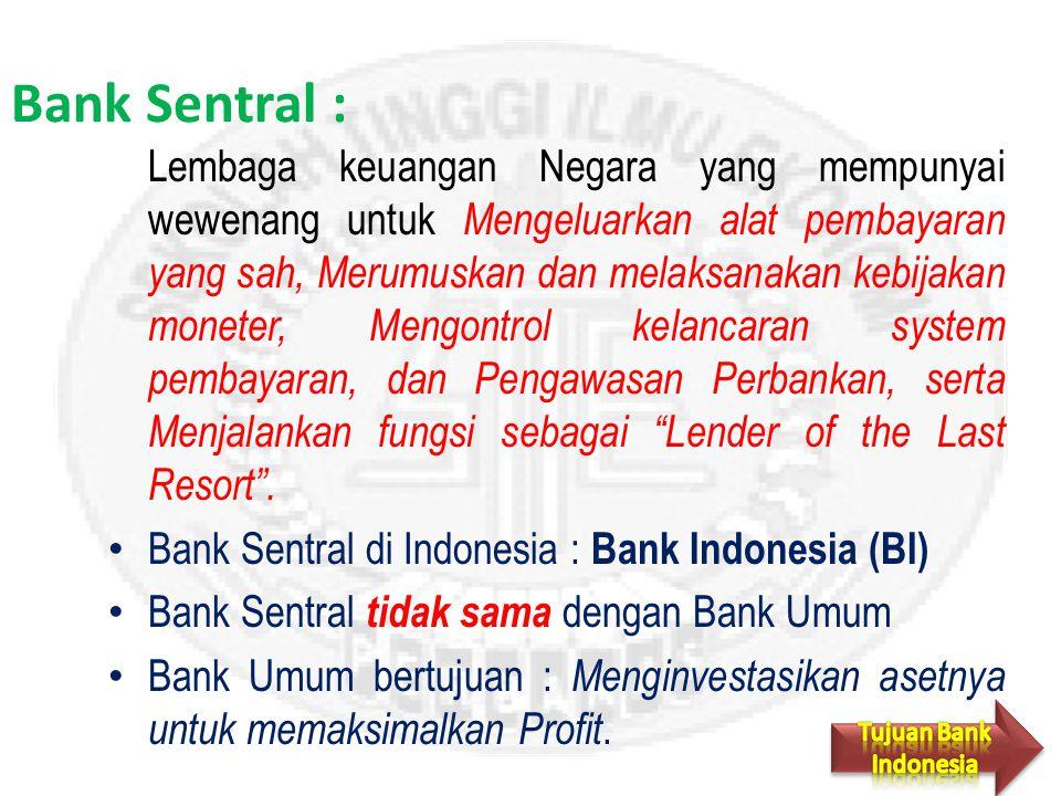 Bank Sentral :