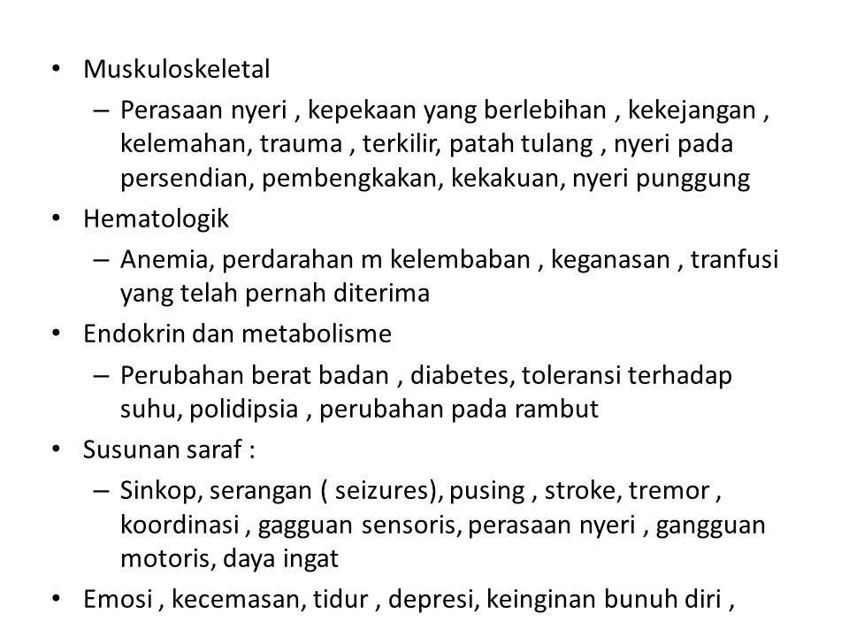 Muskuloskeletal