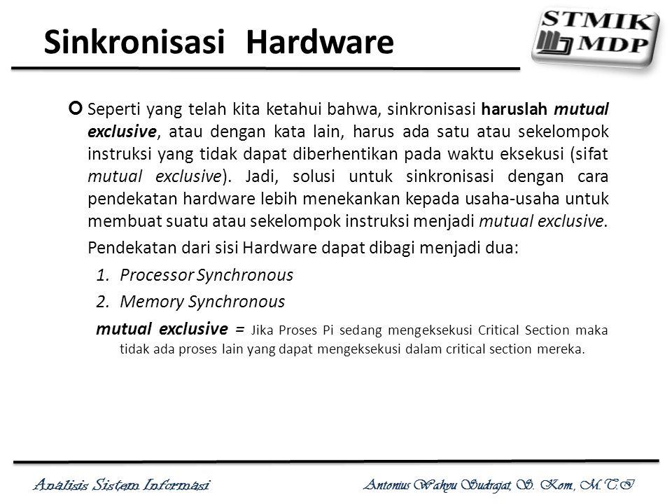 Sinkronisasi Hardware