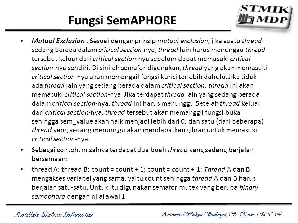 Fungsi SemAPHORE