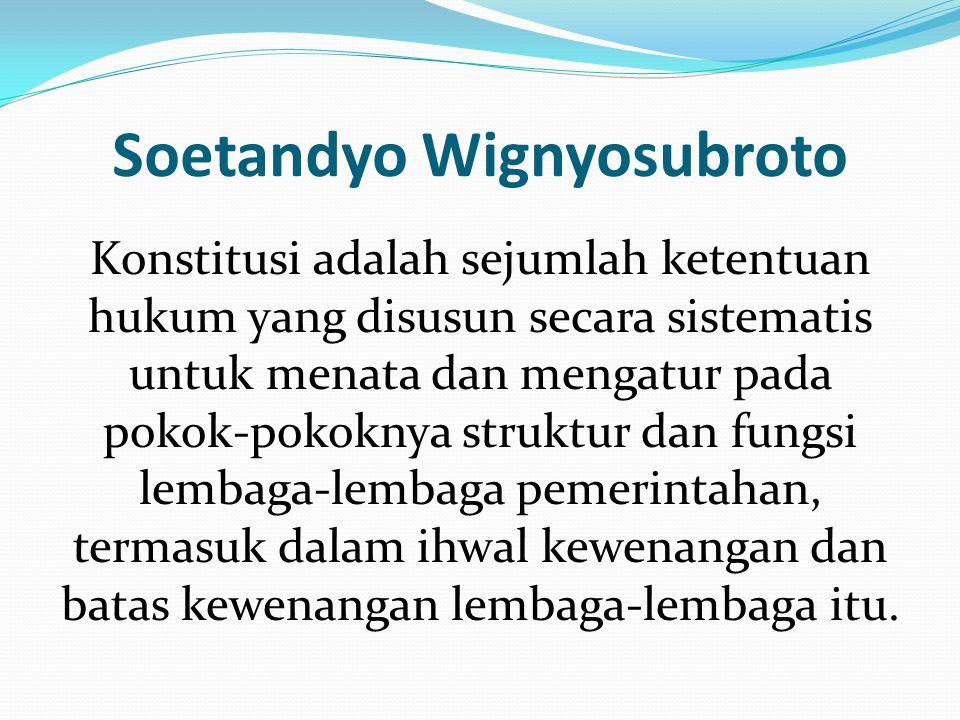 Soetandyo Wignyosubroto